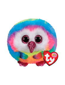 Ty Beanies Puffies, Owen Owl product photo