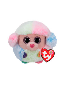 Ty Beanies Puffies, Rainbow Poodle product photo