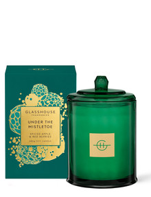Glasshouse Fragrances Under the Mistletoe 380g Candle product photo