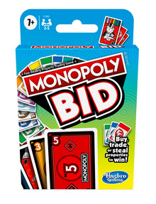Hasbro Games Monopoly Bid product photo