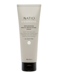 Natio Treatments Replenishing Neck & Decolettage Cream, 100g product photo