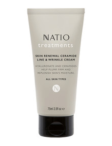 Natio Treatments Skin Renewal Ceramide Line & Wrinkle Cream, 75ml product photo