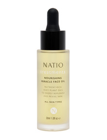 Natio Treatments Nourishing Miracle Face Oil, 30ml product photo