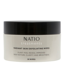 Natio Treatments Radiant Skin Exfoliating Wipes, Set-of-30 product photo