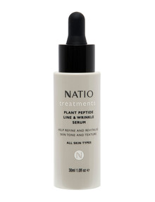 Natio Plant Peptide Line & Wrinkle Serum, 30ml product photo
