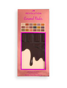 Revolution I Heart Caramel Nudes Chocolate Palette product photo