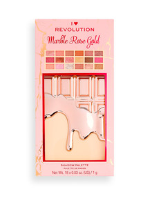 Revolution I Heart Marble Rose Gold Chocolate Palette product photo