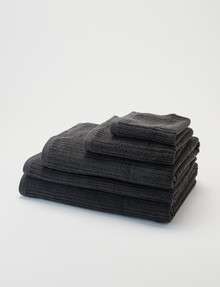 Kate Reed Sierra Towel Range, Charcoal product photo