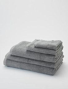 Kate Reed Sierra Towel Range, Silver product photo