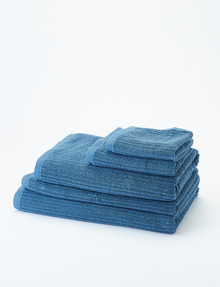 Kate Reed Sierra Towel Range, Azure Blue product photo