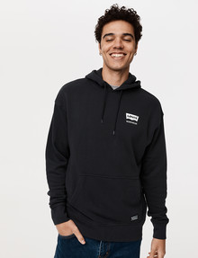 Levis Workwear Hoodie Top, Black product photo