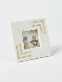 M&Co Brass Inlay Frame, 15x15cm product photo