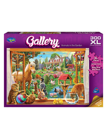 Puzzles Animals In The Garden XL Jigsaw Puzzle, 300 Piece product photo