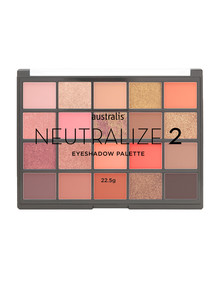 Australis Neutralize 2 Eyeshadow Palette, 22.5g product photo