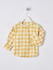 Teeny Weeny Flannelette Check Long-Sleeve Shirt product photo