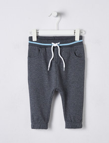 Teeny Weeny Fleece Jogger Pant, Grey product photo