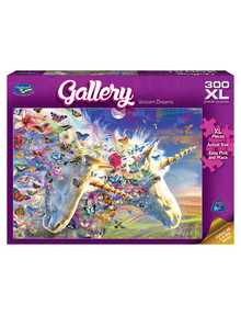 Puzzles Unicorn Dreams XL Jigsaw Puzzle, 300 Piece product photo