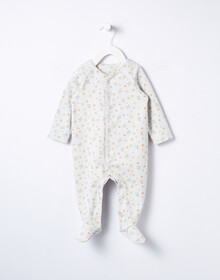 Little Bundle Mini Flora Long-Sleeve Sleepsuit product photo