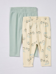 Little Bundle Tea Cup Pant, 2-Pack product photo