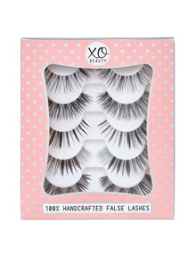 xoBeauty The Dramatics, 5-Pair Lash Pack product photo