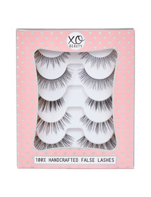 xoBeauty The Naturals, 5-Pair Lash Pack product photo