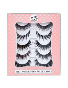 xoBeauty The Party Stack, 5-Pair Lash Pack product photo
