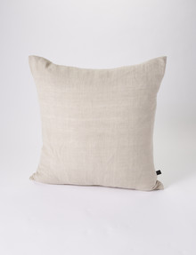 Marcello&Co Vintage Linen Cushion, Natural product photo