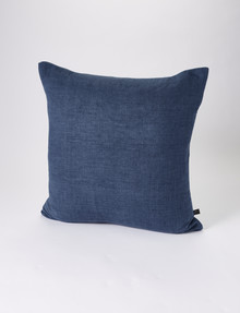 Marcello&Co Vintage Linen Cushion, Indigo product photo