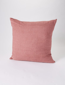 Marcello&Co Vintage Linen Cushion, Sunbaked Clay product photo