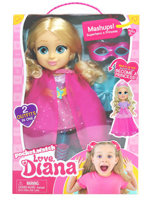 "Love Diana 13"" Doll, Mashup Princess product photo"
