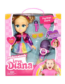 Love Diana Pop Star Sing-Along Doll product photo