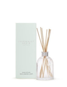 Peppermint Grove Wild Jasmine & Mint Mini Diffuser, 100ml product photo