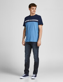 Jack & Jones Glenn Fox Slim-Fit Jean, Dark Blue product photo