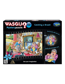 Wasgij Original 17, 1000-Piece Jigsaw, Catching A Break! product photo