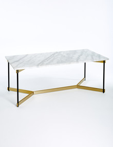 LUCA Kyoto Rectangle Coffee Table, Marble product photo