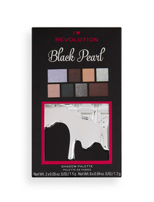 Revolution I Heart Black Pearl Mini Chocolate Palette product photo