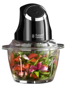 Russell Hobbs Desire Chopper, Matte Black, RHMFP5BLK product photo