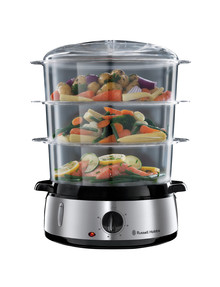 Russell Hobbs Cook At Home Food Steamer, RHSTM3 product photo