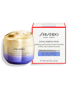 Shiseido Vital Perfection Uplifting & Firming Cream Enriched, 75ml product photo