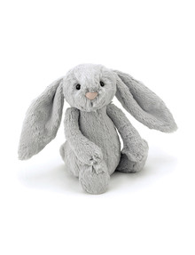 Jellycat Bashful Silver Bunny, Small product photo