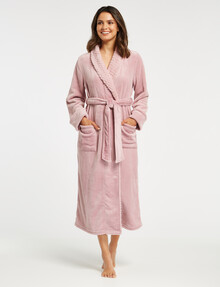 Whistle Sleep Luxe Robe, Pink product photo
