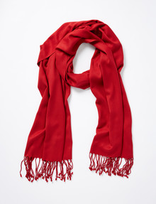 Boston & Bailey Essential Scarf, Red product photo