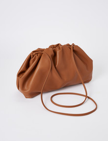 Whistle Aria Soft Crossbody Bag, Tan product photo