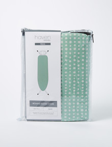 Haven Laundry Press Ironing Board Cover, Sage product photo