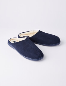 Chisel Russell Mule Slipper, Navy product photo