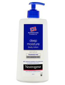 Neutrogena Norwegian Sensitive Lotion, 400mL product photo
