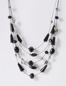 Whistle 5-Strand Wire Necklace product photo