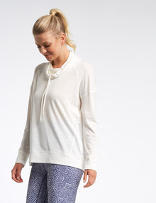 Superfit Slouch Neck Top, Arctic product photo