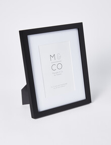 """Haven Home Gallery Photo Frame, Black, 8x10/5x7"""" product photo"""