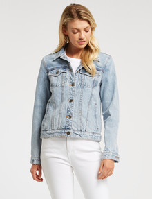Denim Republic Denim Jacket, Pacific Blue product photo